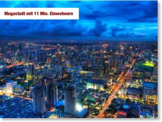 Nachher-Folie 2: Megastadt mit 11 Mio. Einwohnern