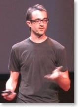Grant Blakeman bei seinem Vortrag auf der TEDx in Boulder