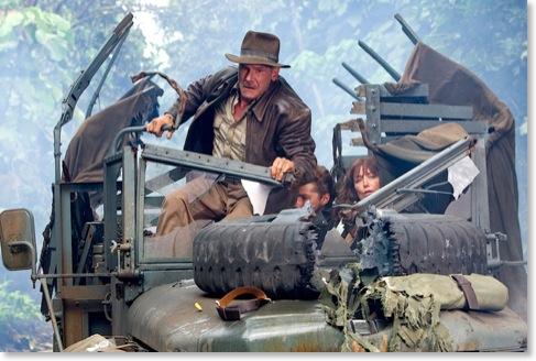 Szene aus einem Indiana-Jones-Film