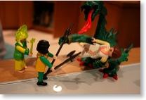 Eine Playmobil-Szene
