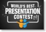Logo des World's Best Presentation Contest auf slideshare