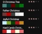 Kuler-Farbpaletten zu Weihnachten