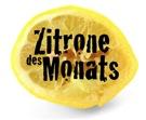 Zitrone des Monats
