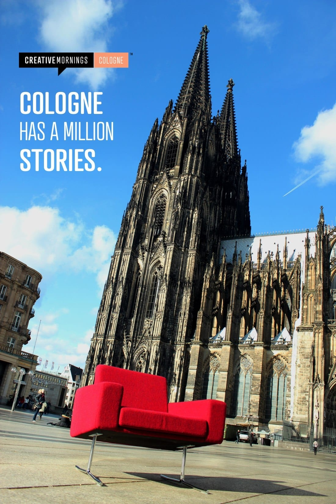 CreativeMornings –Cologne has a million stories.