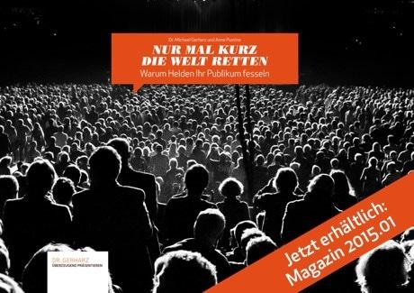 Magazin bestellen: Nur mal kurz die Welt retten