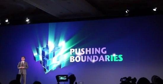 Samsungs CES-Motto: Pushing Boundaries