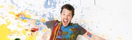 Spaß beim Malen