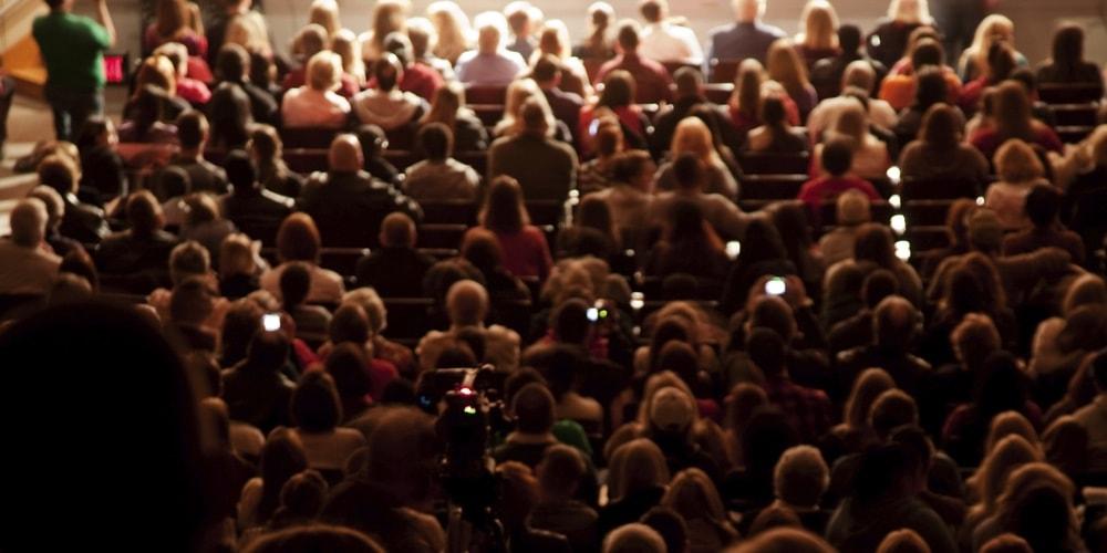 Warum jemand in Ihrem Publikum sitzt